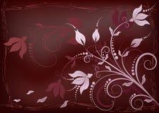 Priorità bassa floreale elegante. illustrazione di stock