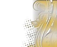 Priorità bassa floreale Invito, nozze, modello decorativo delle carte di carta Struttura Fotografia Stock