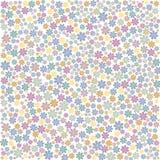 Priorità bassa floreale Multi-coloured Fotografia Stock Libera da Diritti