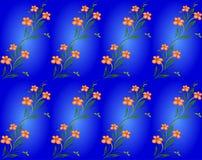 Priorità bassa floreale senza giunte del reticolo Fotografia Stock