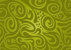 Priorità bassa floreale, verde Fotografia Stock