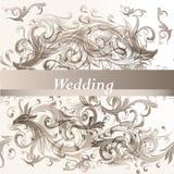 Priorità bassa floreale Wedding Fotografie Stock Libere da Diritti