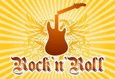 Priorità bassa fredda di rock-and-roll Immagine Stock Libera da Diritti