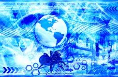 Priorità bassa futuristica immagine stock libera da diritti