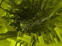 Priorità bassa futuristica astratta Fotografia Stock Libera da Diritti