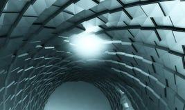 priorità bassa futuristica 3D Fotografia Stock