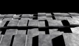 priorità bassa futuristica 3D Fotografia Stock Libera da Diritti