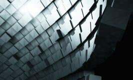 priorità bassa futuristica 3D Fotografie Stock Libere da Diritti