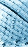 priorità bassa futuristica 3D Immagini Stock Libere da Diritti