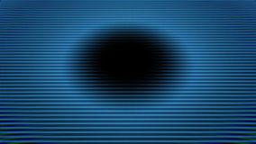 Priorità bassa futuristica del cerchio Anello blu di energia royalty illustrazione gratis