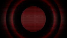 Priorità bassa futuristica del cerchio Anello di energia di colore stock footage