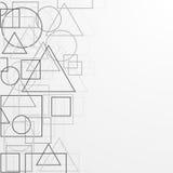 Priorità bassa geometrica Illustrazione di Stock