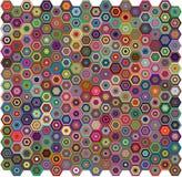 Priorità bassa geometrica astratta Fotografia Stock