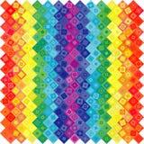 Priorità bassa geometrica astratta del Rainbow illustrazione vettoriale