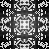 Priorità bassa geometrica in bianco e nero Fotografia Stock
