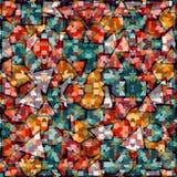 Priorità bassa geometrica colorata Fotografia Stock