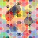 Priorità bassa geometrica colorata Immagine Stock