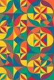 Priorità bassa geometrica senza giunte Illustrazione di vettore Può essere usata per la pubblicità, commercializzando, la present royalty illustrazione gratis