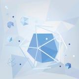 Priorità bassa geometrica vettore 3d Immagini Stock Libere da Diritti