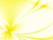 Priorità bassa gialla Fotografie Stock