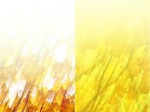 Priorità bassa gialla astratta fotografie stock