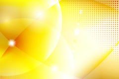 Priorità bassa gialla astratta Immagini Stock Libere da Diritti