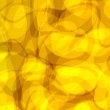 Priorità bassa gialla astratta illustrazione di stock