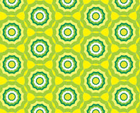 Priorità bassa gialla astratta senza giunte del reticolo con Fotografia Stock