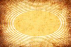Priorità bassa gialla del grunge dell'annata con i raggi del sole illustrazione di stock