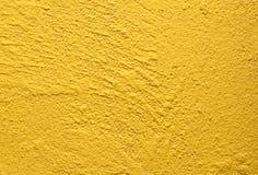 Priorità bassa gialla della parete Immagine Stock