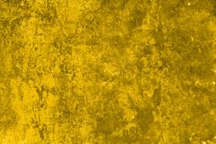 Priorità bassa gialla di Grunge Immagini Stock
