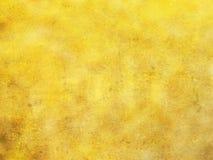 Priorità bassa gialla dorata Immagine Stock