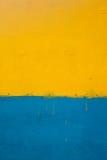 Priorità bassa gialla e blu Immagini Stock Libere da Diritti