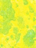 Priorità bassa, giallo verde Immagini Stock