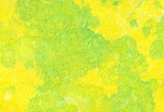 Priorità bassa, giallo verde Fotografie Stock