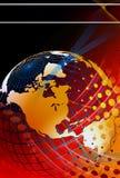 Priorità bassa globale di notizie Immagini Stock