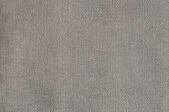 Priorità bassa granulosa grigia del cotone fotografie stock