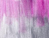 Priorità bassa, grey e colore rosa Fotografia Stock