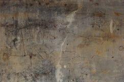 Priorità bassa grigia beige della parete portata Grunge Fotografie Stock Libere da Diritti