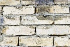Priorità bassa grigia di struttura del muro di mattoni tiled Fine in su fotografia stock
