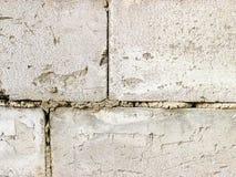 Priorità bassa grigia di struttura del muro di mattoni tiled Fine in su immagine stock libera da diritti