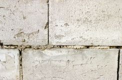 Priorità bassa grigia di struttura del muro di mattoni tiled Fine in su fotografie stock