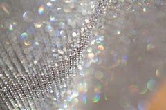 Priorità bassa grigia sparkly astratta Fotografia Stock
