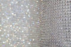 Priorità bassa grigia sparkly astratta Fotografie Stock