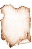 Priorità bassa Grungy in bianco della tela di canapa Immagine Stock Libera da Diritti