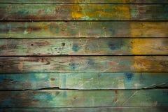 Priorità bassa grungy di legno Fotografia Stock Libera da Diritti