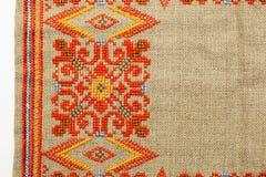 Priorità bassa handmade variopinta di broidery Immagini Stock