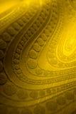 Priorità bassa impressionante dell'oro Immagine Stock