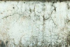 Priorità bassa incrinata della parete di pietra Fotografia Stock