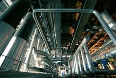 Priorità bassa industriale di concetto Fotografia Stock